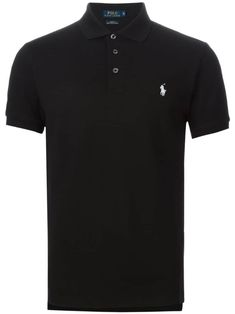 Polo Ralph Lauren slim fit polo shirt - Black
