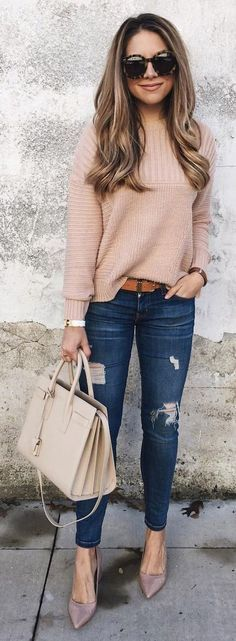 Look Good Casual Chic Spring Outfits 05 Fashion Mode, Look Fashion, Winter Fashion, Womens Fashion, Fashion Trends, Fashion Ideas, Feminine Fashion, Ladies Fashion, Fashion Check