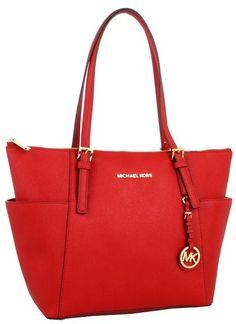 6692d19f500af MICHAEL Michael Kors red bag Diese und weitere Taschen auf  www.designertaschen-shops.
