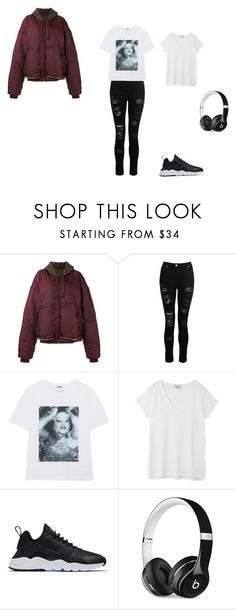 """""""Untitled #513"""" by chloediamonds ❤ liked on Polyvore featuring Vetements, Dorothy Perkins, Kenzo, Hush, NIKE and Beats by Dr. Dre"""