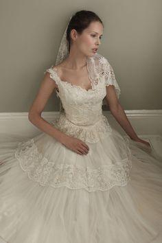 The Vintage Wedding Dress Company, Original Vintage Brautkleid der 50er