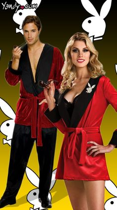 Playboy Mansion Couples Costumes