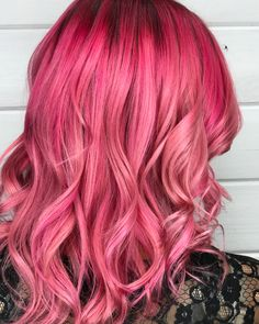 "31 Likes, 2 Comments - Ashley Lemaster (@ashlemaster_redken) on Instagram: ""{{{ Cotton Candy Dreamzz }}} I created this using @redken #citybeats MIDTOWN MAGENTA, pastel PINK…"""