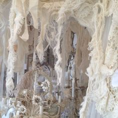 beautiful handmade French canopy ay my uncle's store... And next crafting project. No women should sleep under anything less fabulous then a full moon and a french canopy.