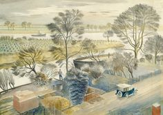 The wonderful Eric Ravilious