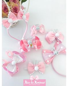 Diy Hair Bows, Diy Bow, Balerina, Girls Accessories, Fabric Flowers, Girl Hairstyles, Hair Clips, Cute Babies, Diy And Crafts