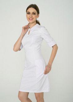 Медицинское платье 2.03, интернет-магазин www.lechikrasivo.ru