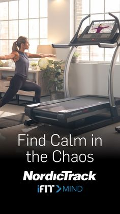 Counter life's chaos with iFit's new guided mental health sessions, available on the X22i. Love Wellness, Health And Wellness, Health Fitness, Mental Health, Incline Treadmill, Weight Loss Workout Plan, Fitness Studio, Yoga For Beginners, Fitness Inspiration