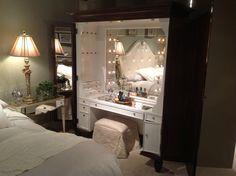makeup+vanity | MakeUp Vanity | Interior Design AWESOME!!!!!❤️❤️❤️