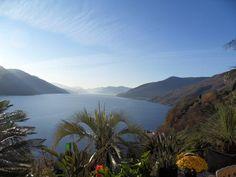 Blick auf den Lago Maggiore in Brissago