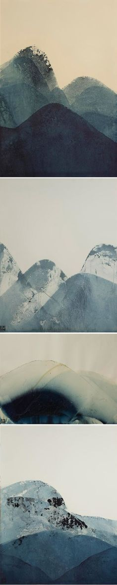 Lynn Pollard - indigo ink mountains