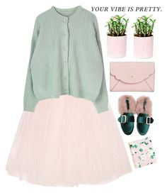 """""""#64"""" by olka-dot ❤ liked on Polyvore featuring Ballet Beautiful, Kate Spade and ban.do"""