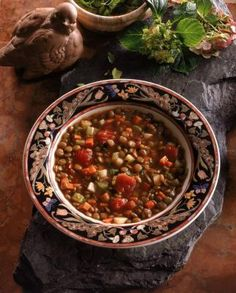 """Warm and comforting during any season -- although maybe less during hot summer weather -- soup is a nutritious and healthy meal. However, many prepared or canned soups, even those marked """"low-sodium,"""" are high in sodium and can make what would otherwise be a healthy food choice unhealthy. To limit sodium in your diet, make your own soup..."""