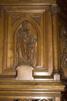 Église Saint-Martin (Prieuré d'Ambierle)-Saint Mathieu - Category:Pulpit of Église Saint-Martin, Ambierle — Wikimedia Commons