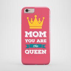 Mom You are the Queen - cover iPhone 6 w artiglo na DaWanda.com