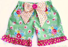 sweet little shorts by Lemon Tree Studio