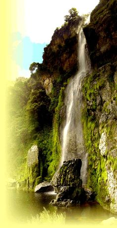 Cascada El Vino Lara, Venezuela al natural