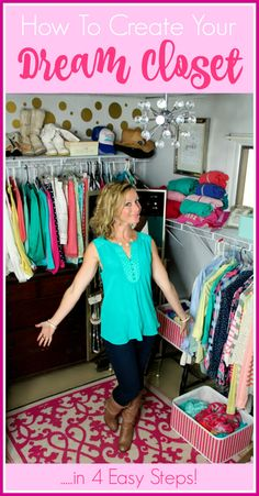 How To Create Your Dream Closet! Love!!