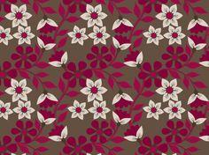 Snow White Floral pattern by Textile Prints, Textiles, Heart Wallpaper, Cl, Snow White, Wallpapers, Quilts, Colour, Patterns