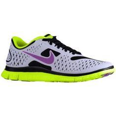 Womens Nike Free 4.0 V2 Red Yellow Running Shoes | Mini Marathon 2013