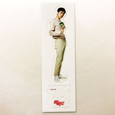 SM Entertainment EXO x PEPERO Snack 2017 Official Promotional Standee - Sehun