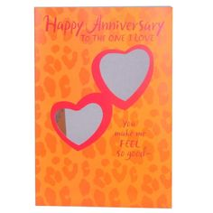 Happy Anniversary To My Love Rs.95 Happy Anniversary to the one I love . You make me feelso good- you know all my favorite spots. To the left down a lttle ohhhhhh, yeah. That's it! . Card Size : 10 Inch x 7 Inch.