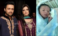Atif Aslam Son Pics: Atif Aslam and Sara Bharwana were expecting their first child and Atif Aslam has now become father of son, Allah Blessed him with the cute baby boy born on Friday. Atif and his wife Sara are very happy on the birth of their son.