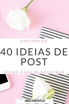 ideias de post