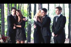 That awkward moment when you're the only one without a girlfriend... ❤Poor Matt. ❤TVD
