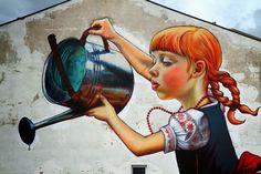 Streetart Legend of the Giants von Natalia Rak in Polen ( 6 Bilder ) - Atomlabor Wuppertal Blog