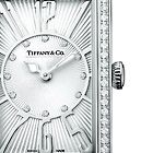 Tiffany & Co. | Item | Tiffany Gallery® watch in stainless steel with diamonds, quartz movement. | United States