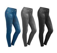 Figur Body Slim Jeans Leggings 3er Set