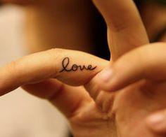 love - tattoo