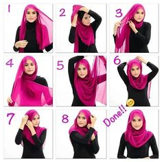 Cute Summer Inspired Hijab Tutorial