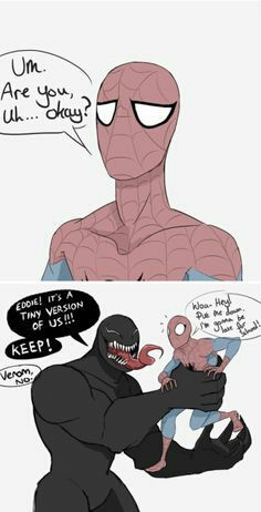 He's going to be late for school! Are you going to impede his education? The post He's going to be late for school! Are you going to impede his education? appeared first on Marvel Universe. Funny Marvel Memes, Dc Memes, Avengers Memes, Marvel Jokes, Funny Comics, Marvel Avengers, Funny Memes, Venom Comics, Marvel Venom