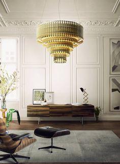 Inspirationen und Dekoideen für moderne Wohnzimmer Design | Kronleuchter von Delightfull. Wohnzimmer Ideen für Haus dekoration  http://wohn-designtrend.de/inspirationen-und-dekoideen-fuer-wohnzimmer-design/