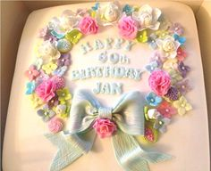 Floral Birthday Cakes Picture