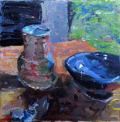 Richard Diebenkorn. See The Virtual Artist gallery: www.theartistobjective.com/gallery/index