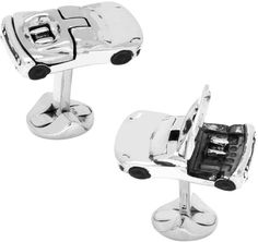 Ox and Bull Trading Co. Men's Sports Car Cufflinks