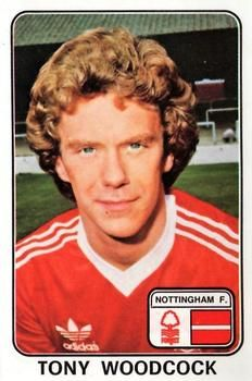 Tony Woodcock of Nottingham Forest in Nottingham Forest Fc, Trading Card Database, Football Cards, Ant, 1970s, Legends, Adidas, Stickers, Football Soccer