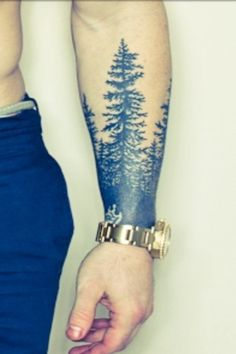 Tree sleeve tattoo for robert frost quote Everyone who love tattoo,just flowing me!!!!!Guiox Tattoo Kits Online