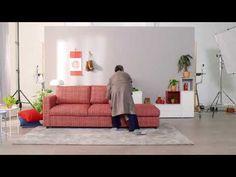 (1) VIMLE Sleeper sofa - YouTube Ikea Vimle, Ikea Usa, Sleeper Sofa, Quality Time, Sofas, Mattress, Relax, Cozy, Furniture
