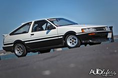 Do you find it hard to say the words 'Twin Cam' or without even casting a smile or even sharing a wee giggle? Or immediately stopping still and listening eagerly whe… Ae86, Torch Light, Jdm, Panda, Toyota, Twins, Black And White, Smile, Awesome