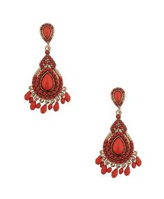 Beaded Chandelier Earrings  $6.80
