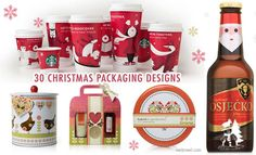 30 Creative Christmas Packaging Design examples for your inspiration. Read full article: http://webneel.com/30-creative-christmas-themed-packaging-design-examples   more http://webneel.com/christmas-cards   Follow us www.pinterest.com/webneel