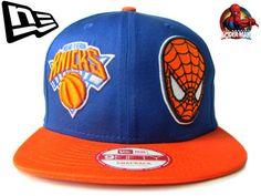 【ニューエラ】【NEW ERA】9FIFTY  NEW YORK KNICKS VS SPIDERMAN ニックス&スパイダーマンコラボ! スナップバック【CAP】【newera】【帽子】【ニューヨーク・ニックス】【snap back】【snapback】【NBA】【マーベル】【black】【バスケ】【青】【黒】【あす楽】【楽天市場】