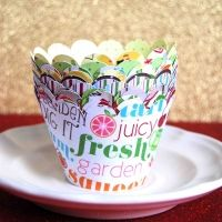 summer party snack cups