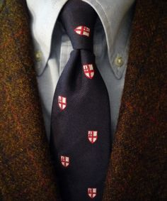 """Brooks Brothers Harris Tweed jacket, a NOS """"Makers"""" Pinpoint OCBD, and a Ben Silver tie. Ivy Style, Cool Style, Men's Style, Sharp Dressed Man, Well Dressed, Harris Tweed Jacket, Tweed Jackets, Preppy Mens Fashion, Men's Fashion"""