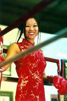 Glamour in the ring | Christina Kwan