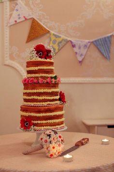 Victoria sandwich wedding cake